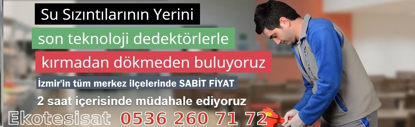 Ekotesisat Su Kaçağı Tespiti İzmir Buca, Tıkanıklık Açma